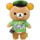 San-X Rilakkuma Yamanote Line Train Fan Plush