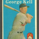 1958 Topps baseball set # 40 George Kell HOF Baltimore Orioles