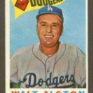 1960 Topps baseball set # 212 Walter Alston HOF Los Angeles Dodgers