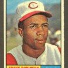 1961 Topps baseball set # 360 Frank Robinson HOF Cincinnati Reds