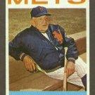 1964 Topps baseball set # 324 Casey Stengel HOF New York Mets