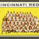 1964 Topps baseball set # 403 Cincinnati Reds team card