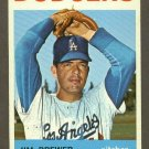 1964 Topps baseball set # 553 Jim Brewer Los Angeles Dodgers