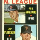 1964 Topps baseball set # 568 N.L. Rookie Stars