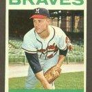 1964 Topps baseball set # 575 Tony Cloninger Milwaukee Braves