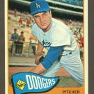 1965 Topps baseball set # 484 Ron Perranoski Los Angeles Dodgers