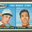 1965 Topps baseball set # 501 Cleveland Indians Rookie Stars