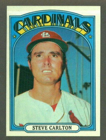 1972 Topps baseball set # 420 Steve Carlton HOF St. Louis Cardinals