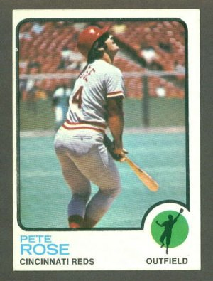 1973 Topps baseball set # 130 Pete Rose Cincinnati Reds