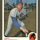 1973 Topps baseball set # 10 Don Sutton HOF Los Angeles Dodgers