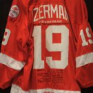 Detroit Red Wings Steve Yzerman Stats Jersey
