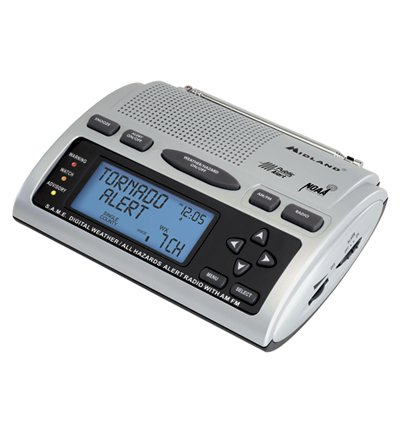 Midland WR-300 Weather Radio Public Alert S.A.M.E. (programming and batteries included!)