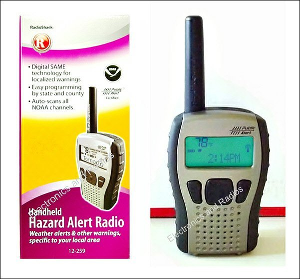 Radio Shack Handheld Weather Radio S.A.M.E. (Batteries and Programming Included!)