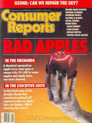 Consumer Reports Magazine - May 1989