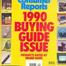 Consumer Reports Book - 1990 Annual Buying Guide