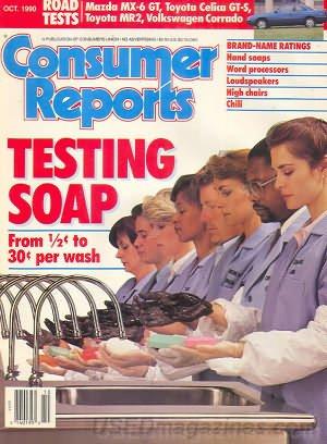 Consumer Reports Magazine - October 1990