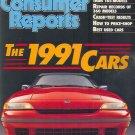 Consumer Reports Magazine - April 1991
