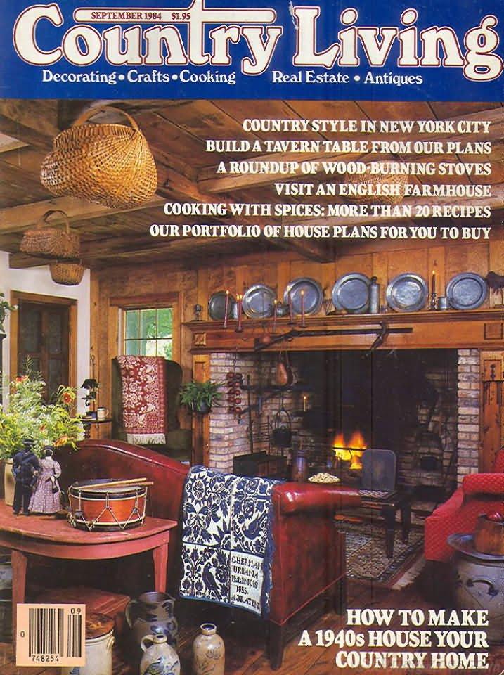 Country Living Magazine - September 1984