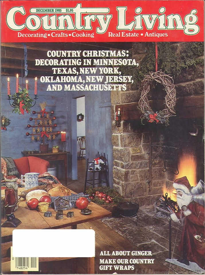 Country Living Magazine - December 1985