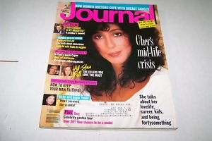 Ladies Home Journal Magazine - July 1989 - Cher