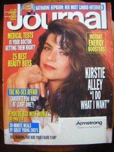 Ladies Home Journal Magazine - October 1991 - Kirstie Alley
