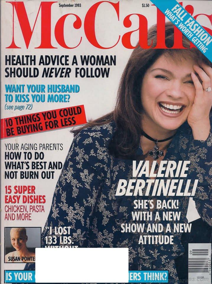 McCalls Magazine - September 1993 - Valerie Bertinelli