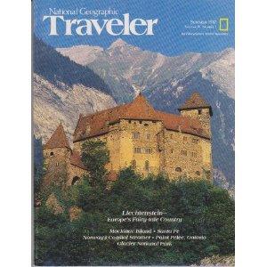 National Geographic Traveler Magazine - Summer 1987 - Liechtenstein