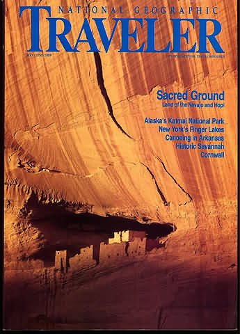 National Geographic Traveler Magazine - May / June 1989
