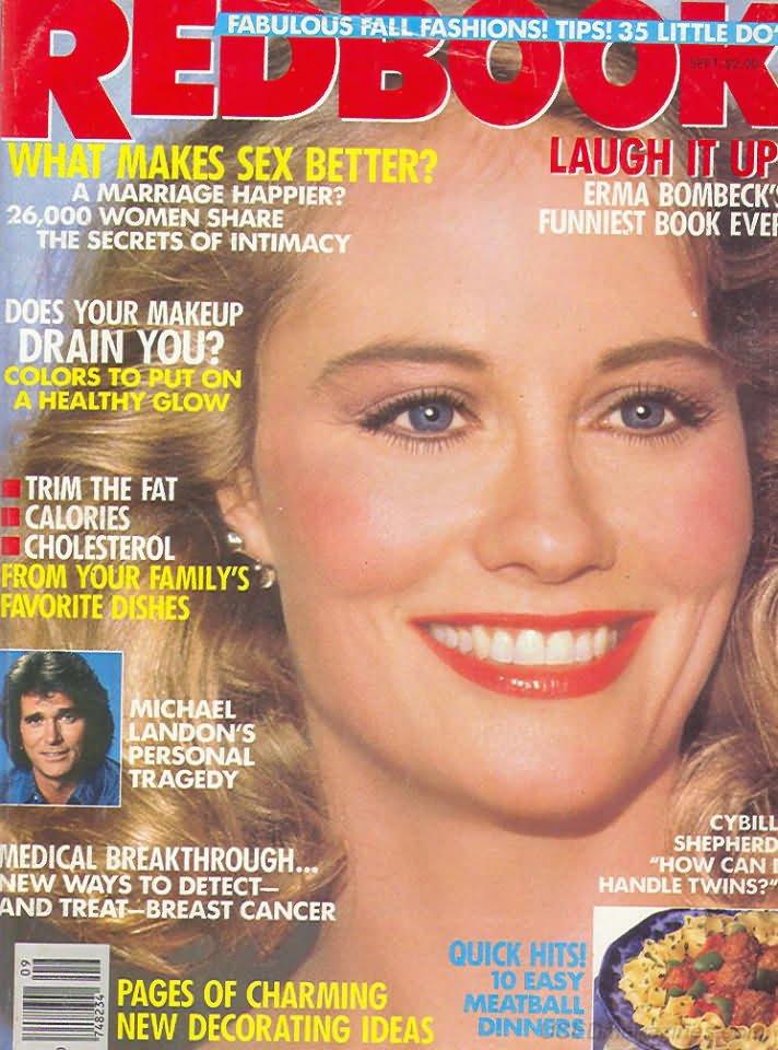 Redbook Magazine - September 1987 - Cybill Shepherd
