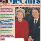 McCalls Magazine - November 1985 - Nancy Reagan's Most Personal Interview