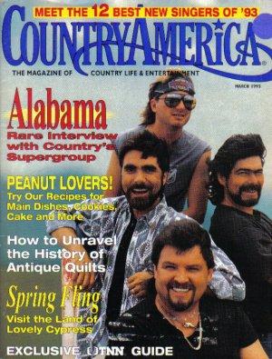 Country America Magazine - March 1993 - Alabama