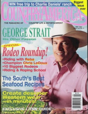 Country America Magazine - May 1993 - George Strait