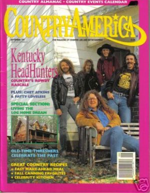Country America Magazine - September 1991 - Kentucky Headhunters