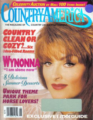 Country America Magazine - June 1993 - Wynonna Judd