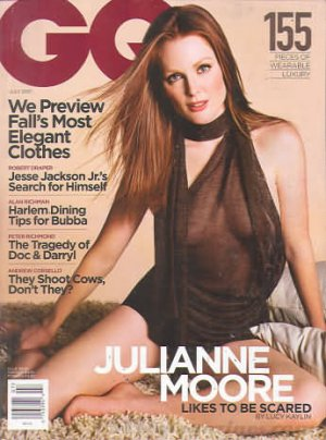 GQ (Gentlemen's Quarterly) Magazine - June 2001 - Julianne Moore