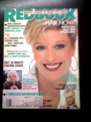 Redbook Magazine - January 1988 - Mary Frann , Suzanne Sommers , Ann Jillian