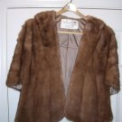 Vintage Mink Stole, Like-New Condition