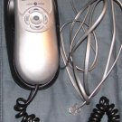 GE Black & Silver/Gray Corded Caller ID Telephone