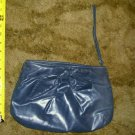 Vintage World Fashion Right Dark Blue / Charcoal Shade Clutch Handbag