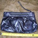 Vintage Black World Fashion Right Cluch Handbag