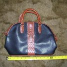 Black & Brown Dolce Vita Leather Handbag