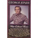 Cassette Tape: George Jones - Wine Colored Roses