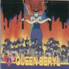 Sailor Moon Action Flipz Sticker #9 - Queen Beryl