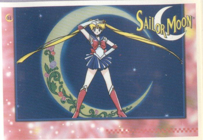Sailor Moon Artbox/Second Series Sticker #1 - Sailor Moon