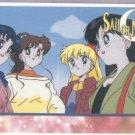 Sailor Moon Artbox/Second Series Sticker #30 - Amy, Lita, Mina and Raye