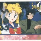 Sailor Moon Artbox/Second Series Sticker #32 - Serena and Darien