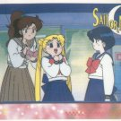 Sailor Moon Artbox/Second Series Sticker #37 - Lita, Serena, and Amy