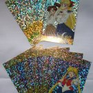 Sailor Moon Artbox/Second Series Foil Stickers Set