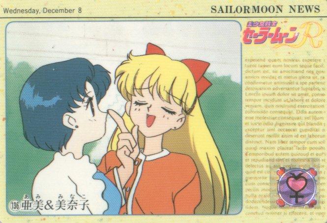 Sailor Moon Carddass Card #136