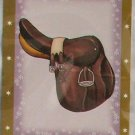 Bella Sara Series Two Card #90 Jumping Saddle